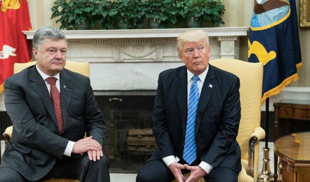 Poroşenko ve Trump'tan işbirliği görüşmesi