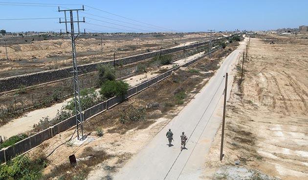 Mısır- Gazze Şeridi sınırına tampon bölge | FOTO