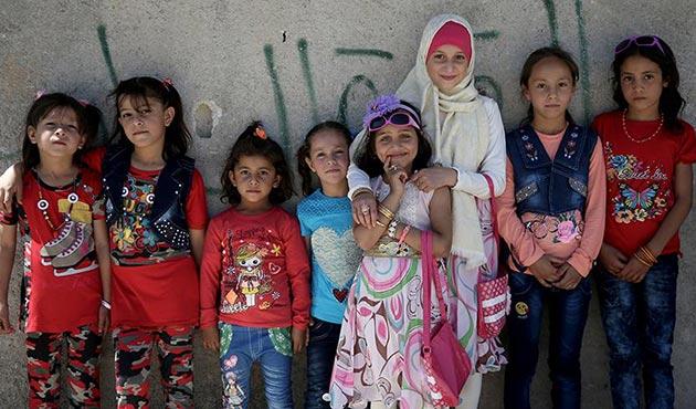 Suriye'deki acımasız savaşın 'özgür çocukları'   FOTO
