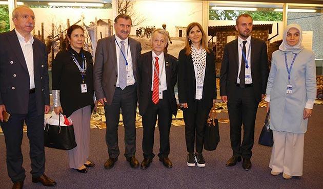 Avrupa Konseyi'nde Kırım Tatar sergisi açıldı