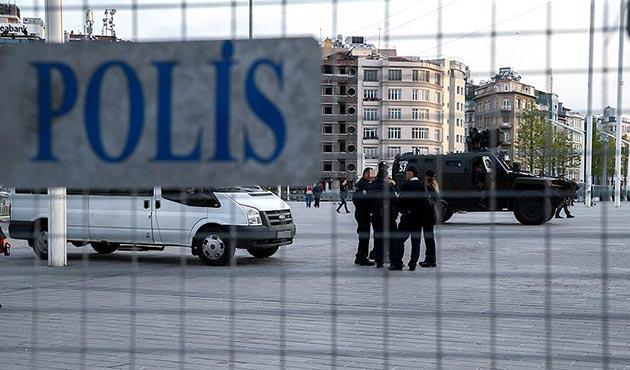 Taksim'de silah sesleri