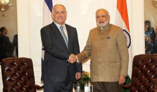 Modi'den bir ilk, İsrail ziyareti