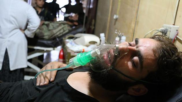Rejim güçlerinden Şam'da klor gazlı saldırı iddiası