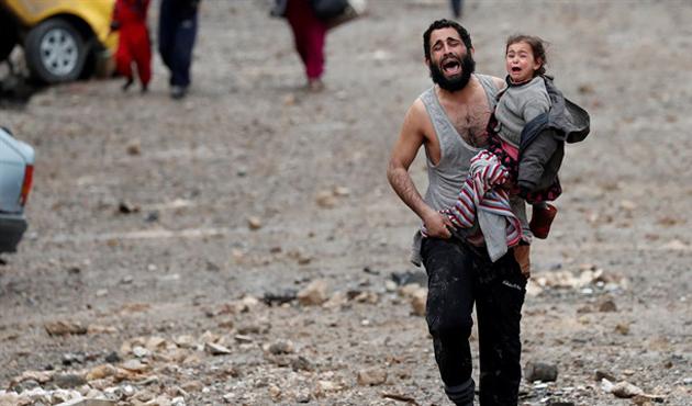 Musul'da üç yılda yedi bin sivil öldü