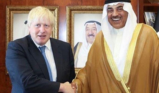 Katar krizi için İngiltere de devrede