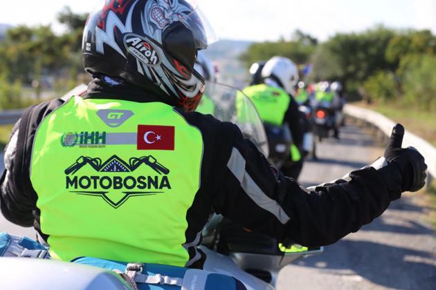 MotoBosna, ilk sınırı aştı | FOTO
