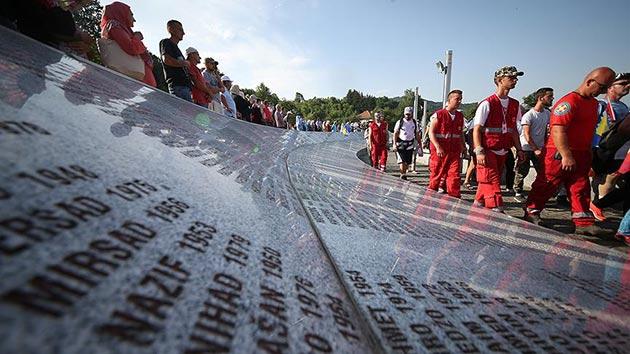 'Ölüm Yolu'nda 'Barış Yürüyüşü' sona erdi | FOTO