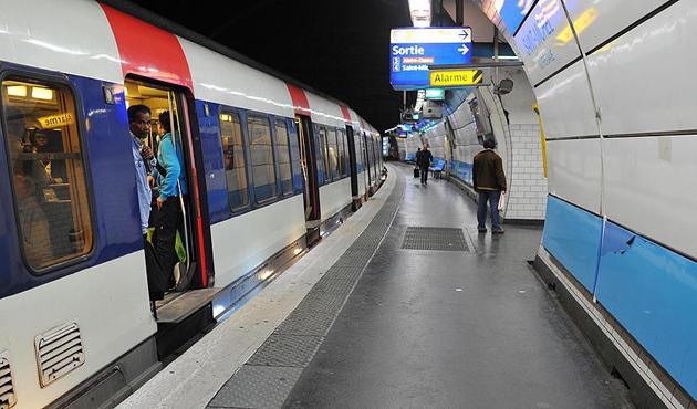 Paris metroları sular altında