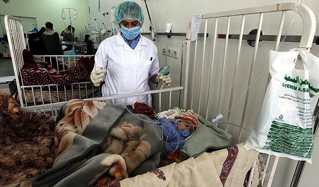 UNICEF'den Yemen'e 33 tonluk tıbbi yardım