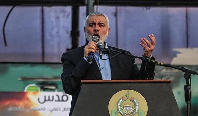 Hamas lideri Heniye'den birlik ve ulusal mutabakat çağrısı