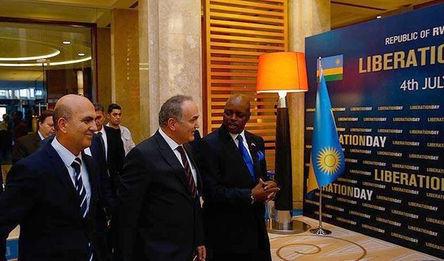 Ruanda Kurtuluş Günü'nün 23. yıl dönümü Ankara'da kutlandı