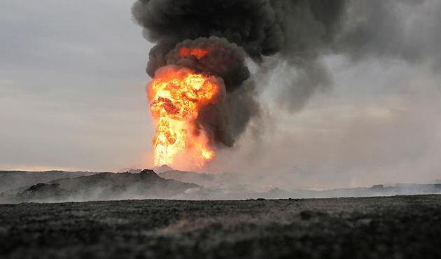 Nijerya'da petrol kuyusuna saldırı sonrası yangında 30 ölü