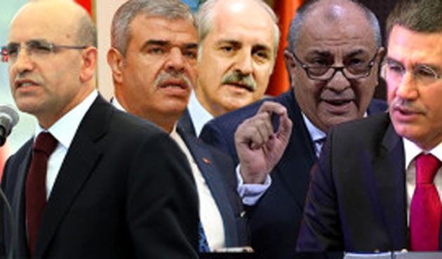 5 Başbakan Yardımcısından 4'ü değişti
