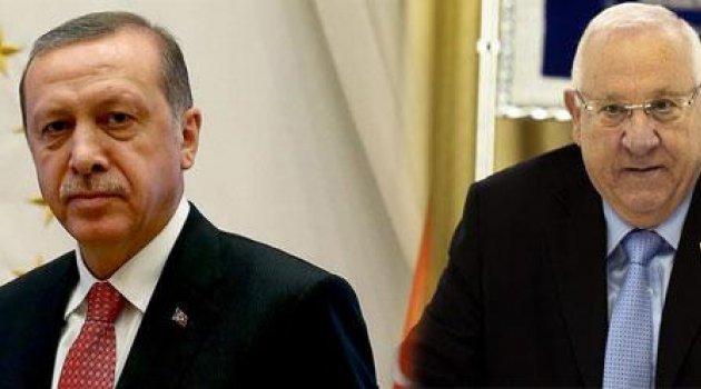 Cumhurbaşkanı Erdoğan, Rivlin ile Mescid-i Aksa'yı görüştü