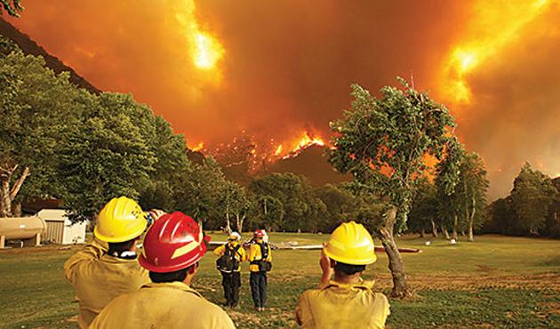 10 yılda 24 bin 264 orman yangını çıktı