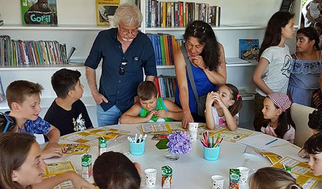 Sapanca'da çocukların 'Karikatürlü Ev' i oldu