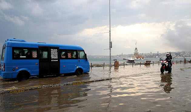 Bakanlık'tan 'Meteoroloji'nin ikazlarını dikkate alın' uyarısı