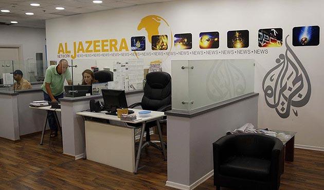 İsrail Al Jazeera'nin Kudüs ofisini kapatmak için çalışma başlattı