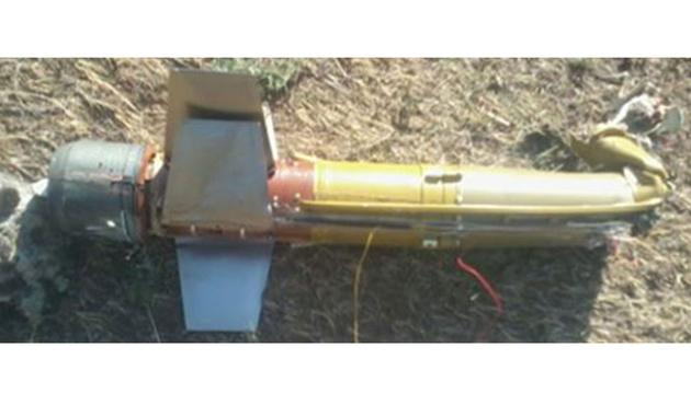Doğubayazıt'ta tanksavar füze bulundu