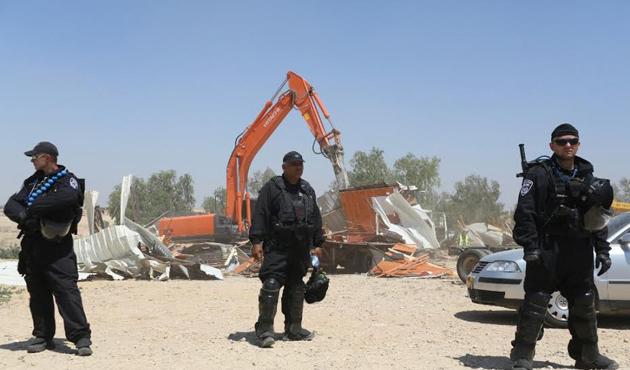 İsrail, Arakib köyünde 116'ncı kez yıkım yaptı