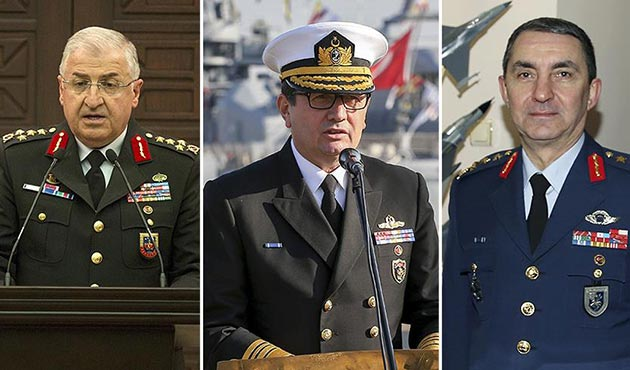 TSK'nın yeni kuvvet komutanları belli oldu