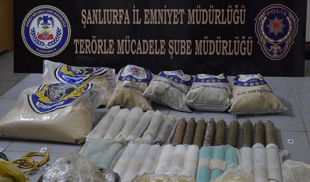 Şanlıurfa'da PKK'ya ait mühimmat ele geçirildi