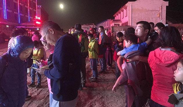 Çin'de büyük deprem