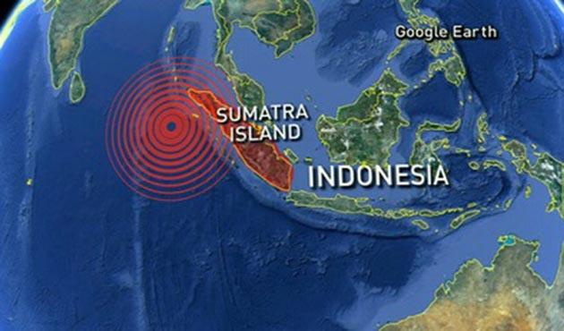 Endonezya'da 6,4 şiddetinde deprem