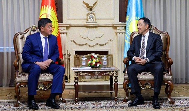 Kırgızistan Başbakanı Ceenbekov Kazakistan'da