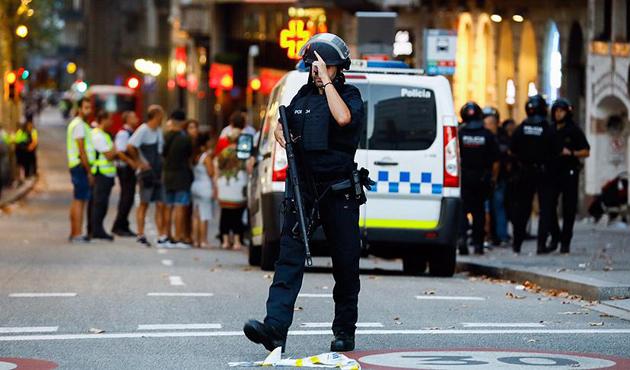 Barcelona'daki terör saldırısında bir Türk vatandaşı yaralandı