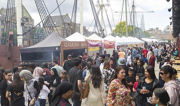 Londra'daki Helal Gıda Festivaline büyük ilgi