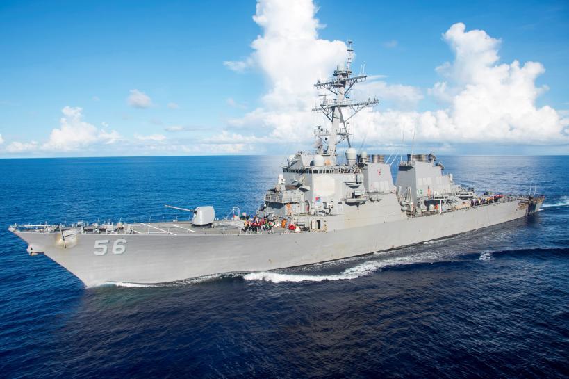 ABD savaş gemisi tankerle çarpıştı: 10 asker kayıp