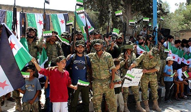 Cerablus'ta Fırat Kalkanı Harekatı'nın 1'inci yıl kutlamaları   FOTO