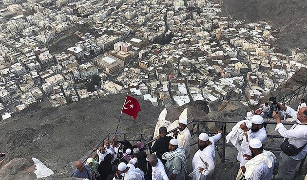 Hacı adaylarının 'Hira' heyecanı