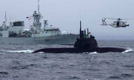 NATO'nun deniz tatbikatı balıkları kaçırdı