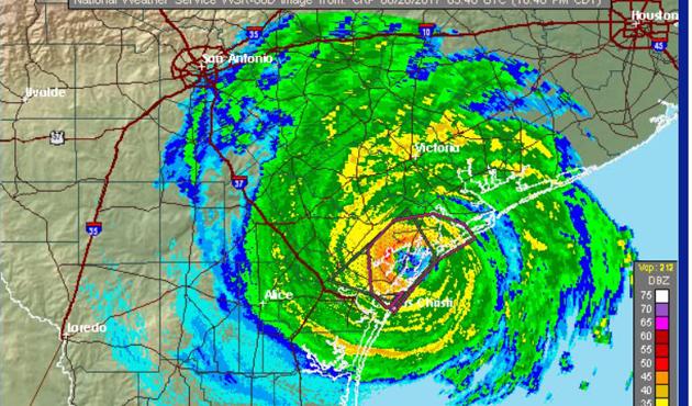 ABD'deki Harvey Kasırgası şiddetini artırdı