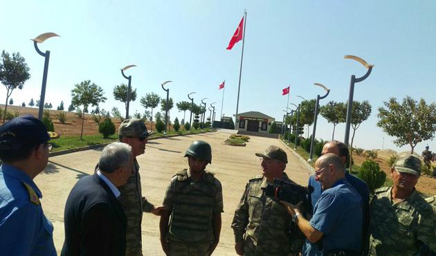 Orgeneral Akar'dan Süleyman Şah ziyareti