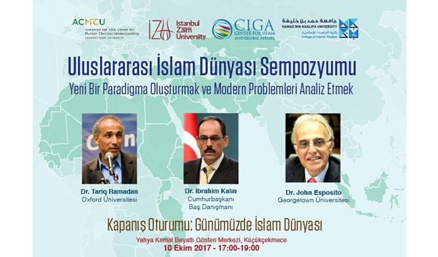 Sabahattin Zaim'de Müslüman Toplumların Modern Problemleri Sempozyumu