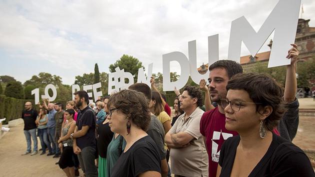 Katalonya'nın bağımsızlığını önlemek için 'askeri müdahale' sinyali