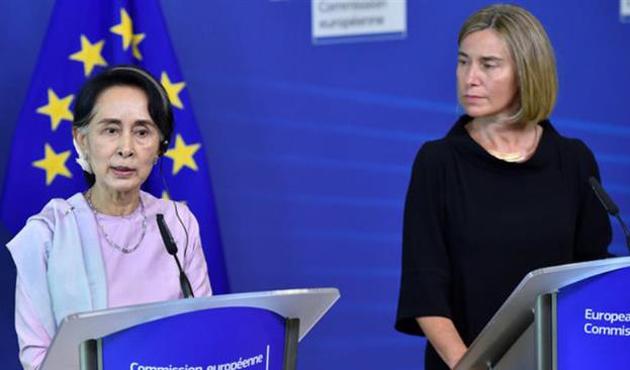 AB'nin gündeminde Myanmar yok