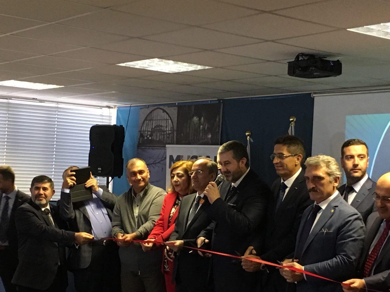 MÜSİAD'ın İngiltere şubesi açıldı   FOTO