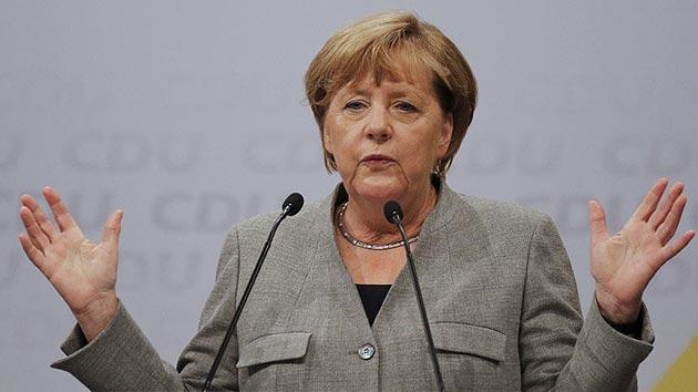 Almanya'daki genel seçimin galibi Merkel