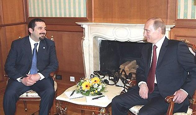 Rus lider Putin, Hariri ile görüştü
