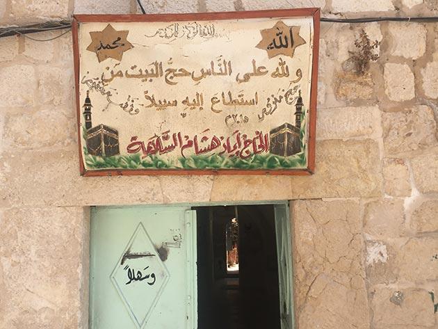 Kudüs sokaklarında hac rayihası