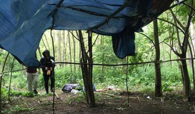 Fransa'da sığınmacı kampı tahliye edildi