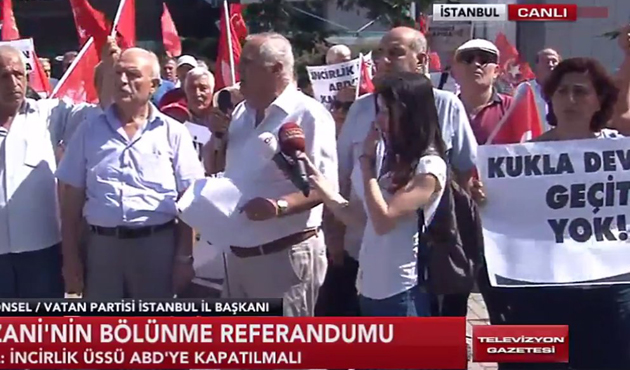 Perinçek'in partisi IKBY referandumunu protesto etti