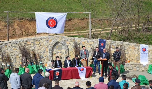 TİKA Karadağ'da zeytinyağı üretim tesisi kuruyor