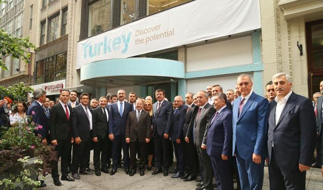 New York'ta Türkiye Ticaret Merkezi açıldı