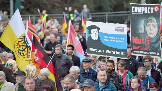 Irkçı AfD, Almanya'nın en büyük üçüncü partisi