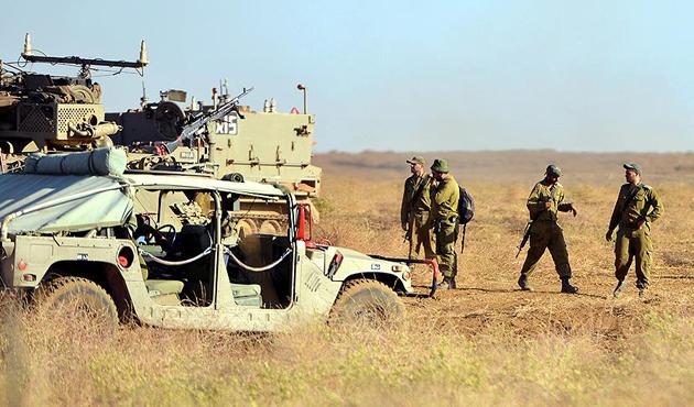Golan'daki tatbikatta iki İsrail askeri öldü